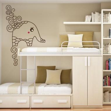 vinilo decorativo Elefante Bombai