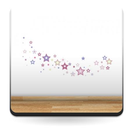 vinilo decorativo Estrellas Colores II
