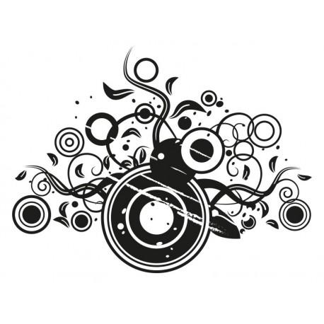 Fantasía Circular imagen vinilo decorativo