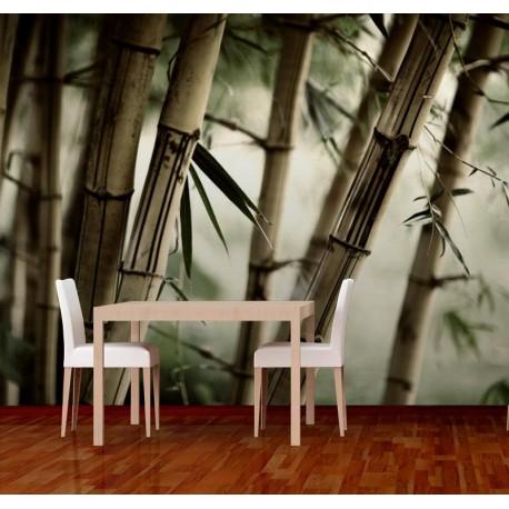 Fotomural Bambú adhesivo decorativo ambiente