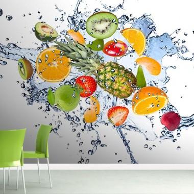 Fotomural Frutas Frescas imagen vinilo decorativo