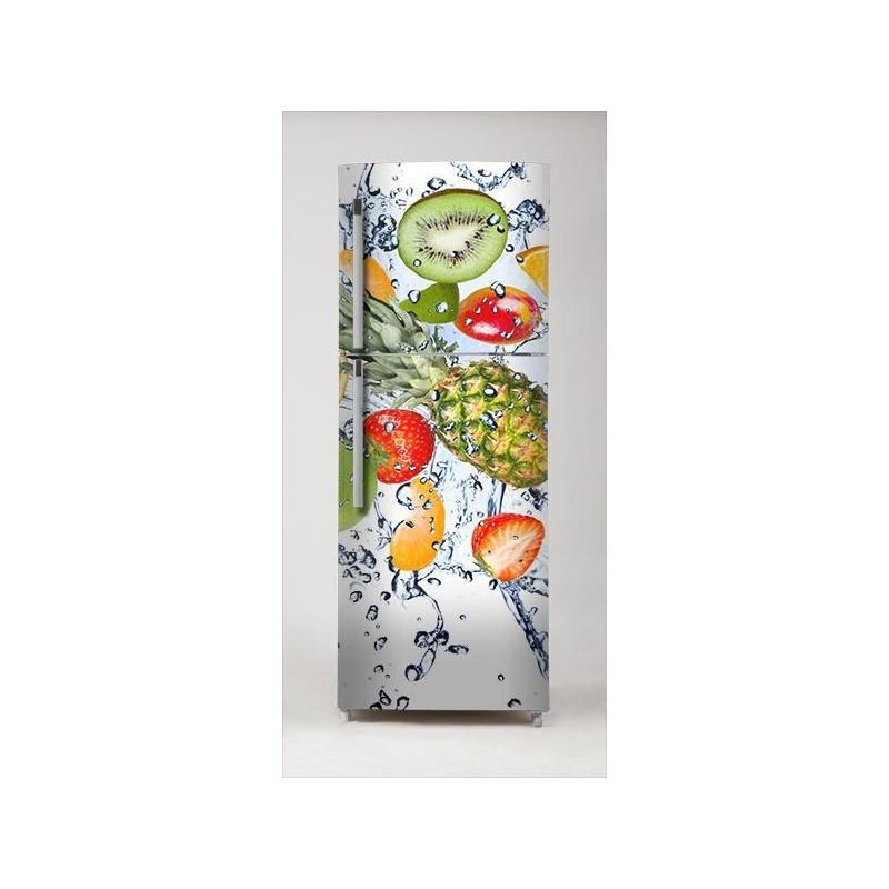 vinilo fruta fresca para frigor fico