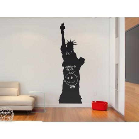 Pizarra Estatua de la Libertad producto vinilos