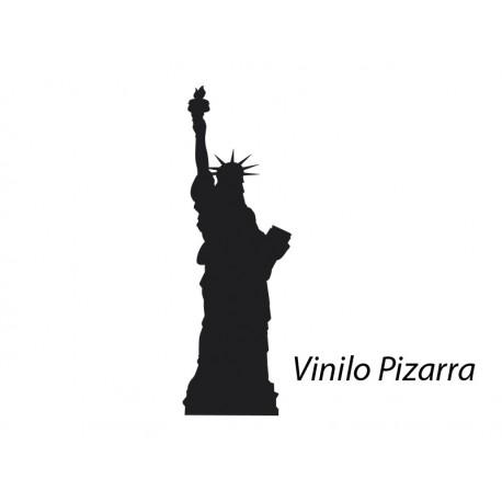 vinilo decorativo Pizarra Estatua de la Libertad