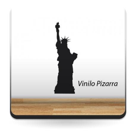 pegatina decorativa Pizarra Estatua de la Libertad