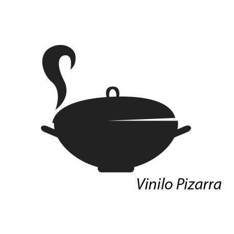 Vinilo pizarra cocina olla - Vinilo pizarra cocina ...