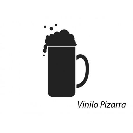 adhesivo decorativo Pizarra Bar Cerveza