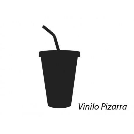 Pizarra Bar Refresco producto vinilos