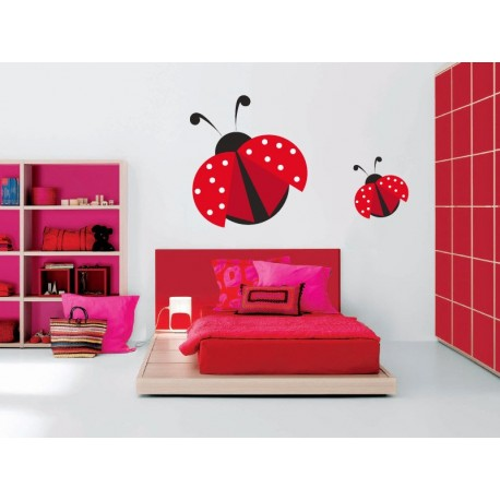 vinilos imagen producto Mariquita Roja
