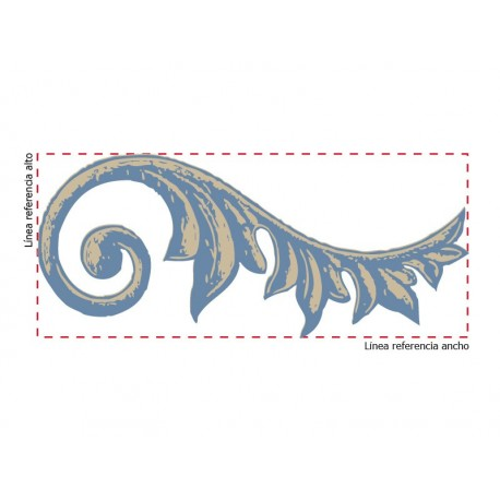 vinilos imagen producto Orla Escultura