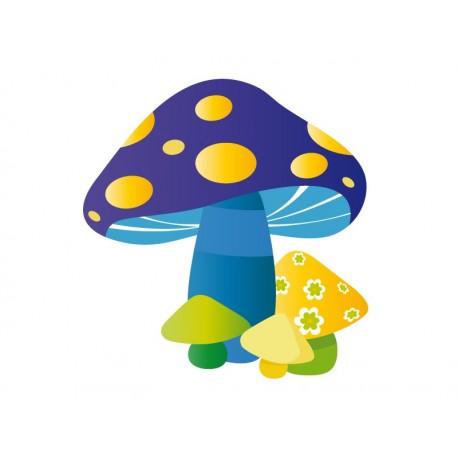 Hongos Azul imagen vista previa
