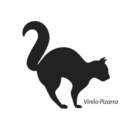vinilo decorativo Pizarra Gato