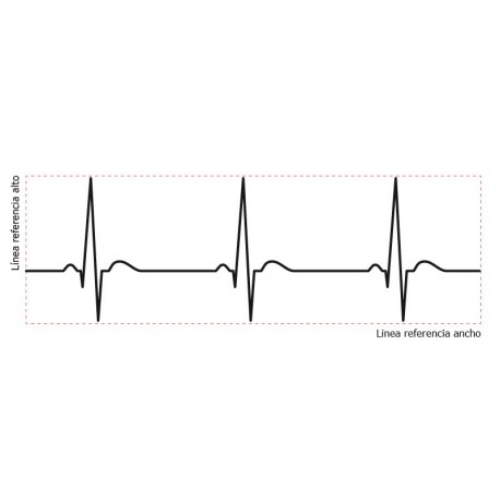 adhesivo decorativo Cardio Decoración para Pared