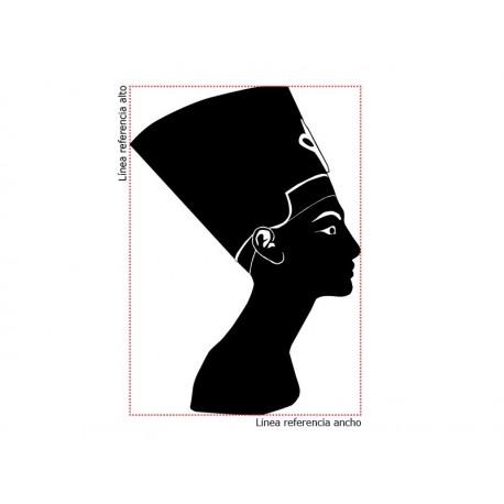 Egipcia Silueta para Pared decoración con vinilo