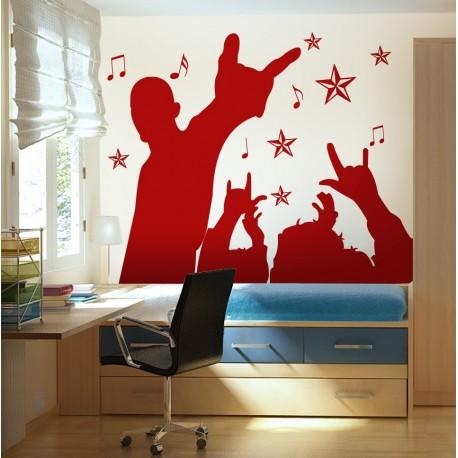 Red Party Composición adhesivo decorativo ambiente