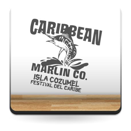vinilo decorativo Caribe Texto