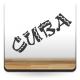 Cuba Texto imagen vinilo decorativo