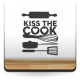 pegatina decorativa Cocina Beso
