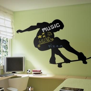 vinilo decorativo Pizarra Skate Board