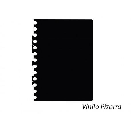 pegatina pared Pizarra Hoja Cuaderno