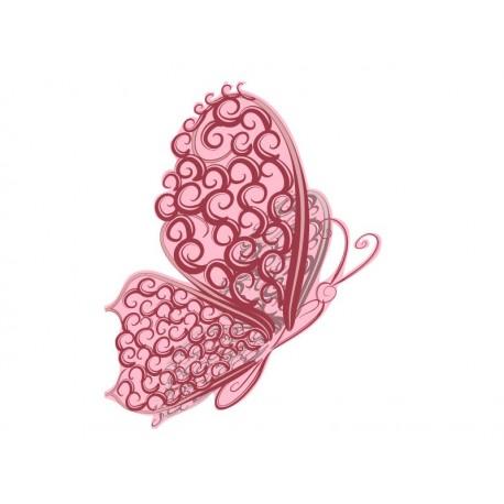 Mariposa Rosé imagen vinilo decorativo