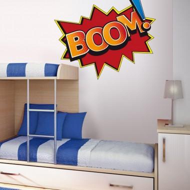 """adhesivo decorativo Onomatopeya """"Boom"""""""
