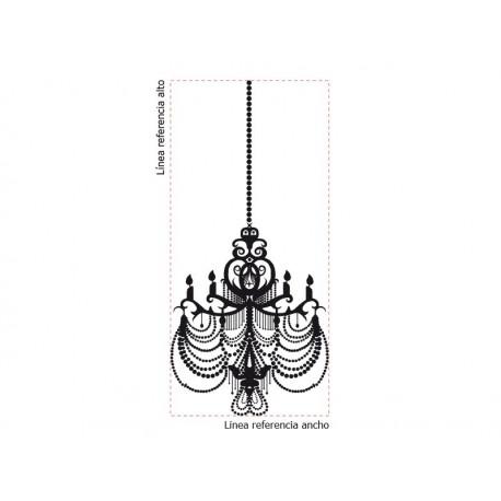 adhesivo decorativo Lámpara de Araña Bonaparte