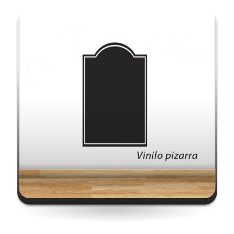 pegatina decorativa Pizarra Vintage