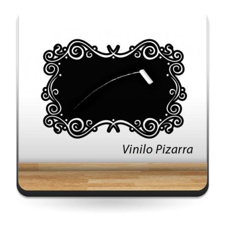 vinilo decorativo Pizarra Marco Vintage II
