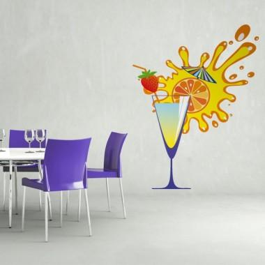 Cocktail adhesivo decorativo ambiente