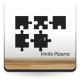adhesivo decorativo Pizarra Puzzle