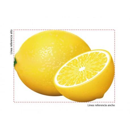 adhesivo decorativo Limones
