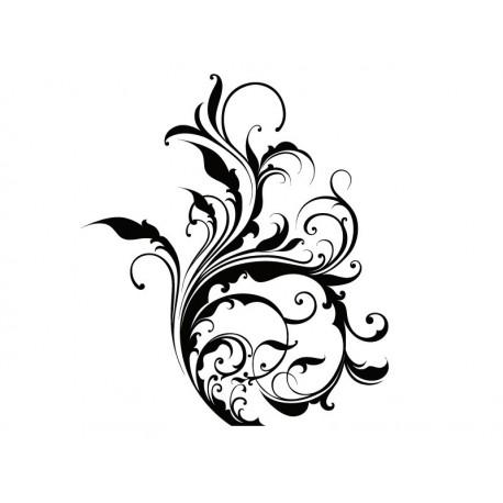 Orgánico Hojas Fantasía adhesivo decorativo ambiente
