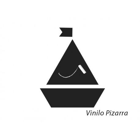 vinilos imagen producto Pizarra Barco Velero