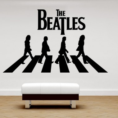 pegatina pared Beatles