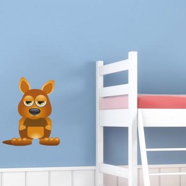 """Conejo """"Dido"""" en Pegatina imagen vinilo decorativo"""