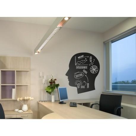 Pizarra Oficina Ideas decoración con vinilo
