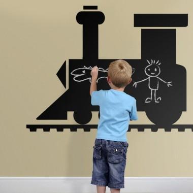 Pizarra Locomotora adhesivo decorativo ambiente