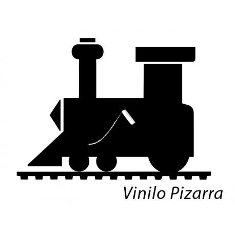 Pizarra Locomotora decoración con vinilo