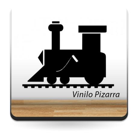 Pizarra Locomotora producto vinilos