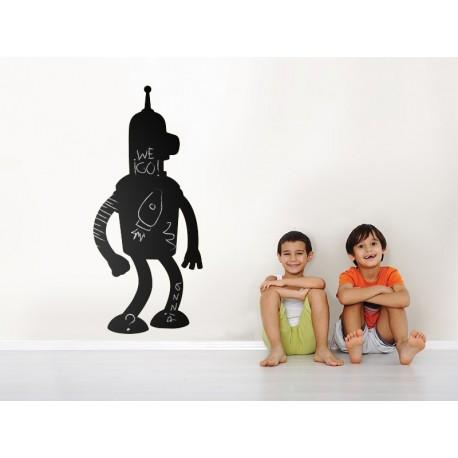 vinilo decorativo Pizarra Robot