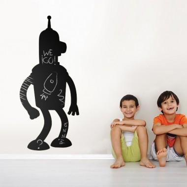 vinilos imagen producto Pizarra Robot