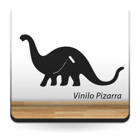 pegatina decorativa Pizarra Dinosaurio