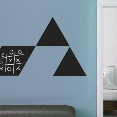 vinilo decorativo Pizarra Triángulo