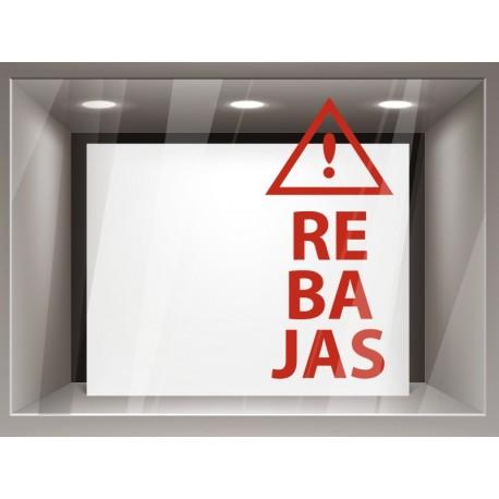 vinilos imagen producto Rebajas Vertical con Icono