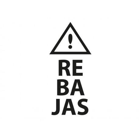 adhesivo decorativo Rebajas Vertical con Icono