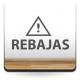 vinilo decorativo Rebajas Horizontal con Icono