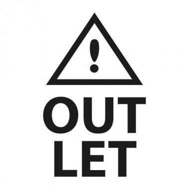 vinilos imagen producto Outlet Vertical con Icono