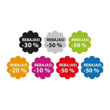 Rebajas Flor Reposicionable producto vinilos