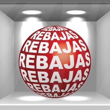pegatina decorativa Rebajas 3D Reposicionable
